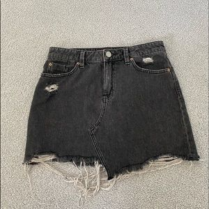 BDG Urban Outfitters Gray Jean Skirt